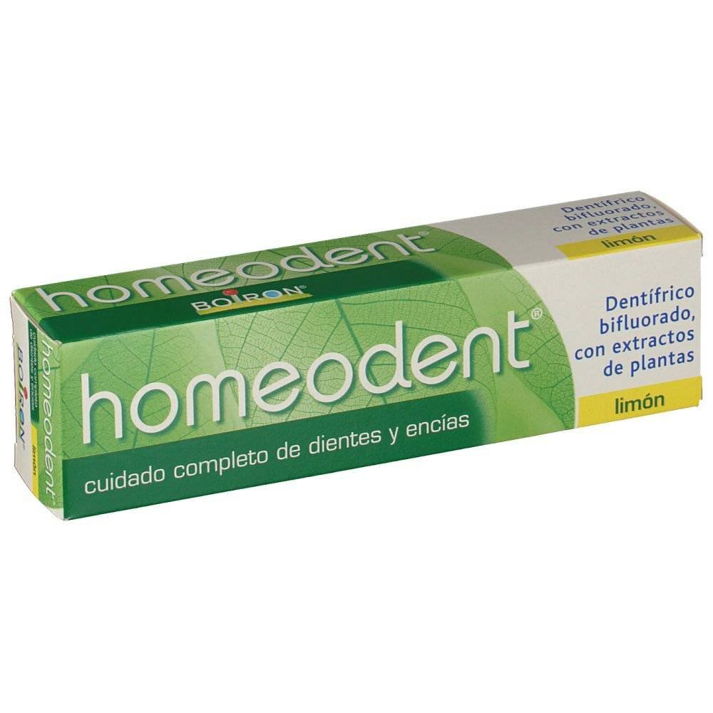 homeodent pasta limon 75 ml boiron