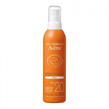 avene solar spray spf 20 200 ml