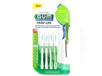 CEPILLO INTERDENTAL VIAJE - GUM 1414 TRAV-LER (ULTRAFINO 1.1 MM CONICO 6U)