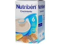 Nutriben - Papilla Crecimiento con Leche adaptada 600g